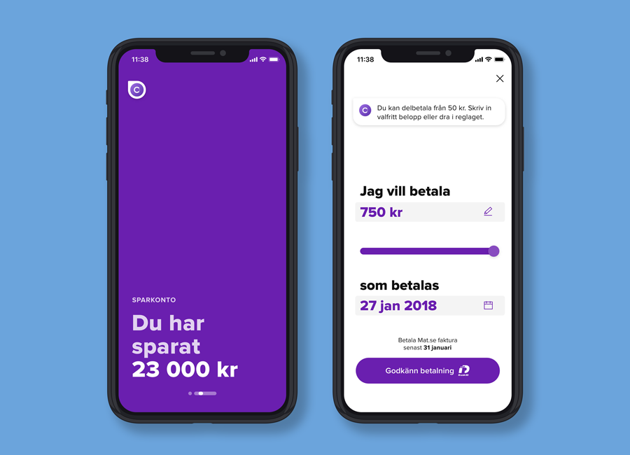 Collector Bank för iOS