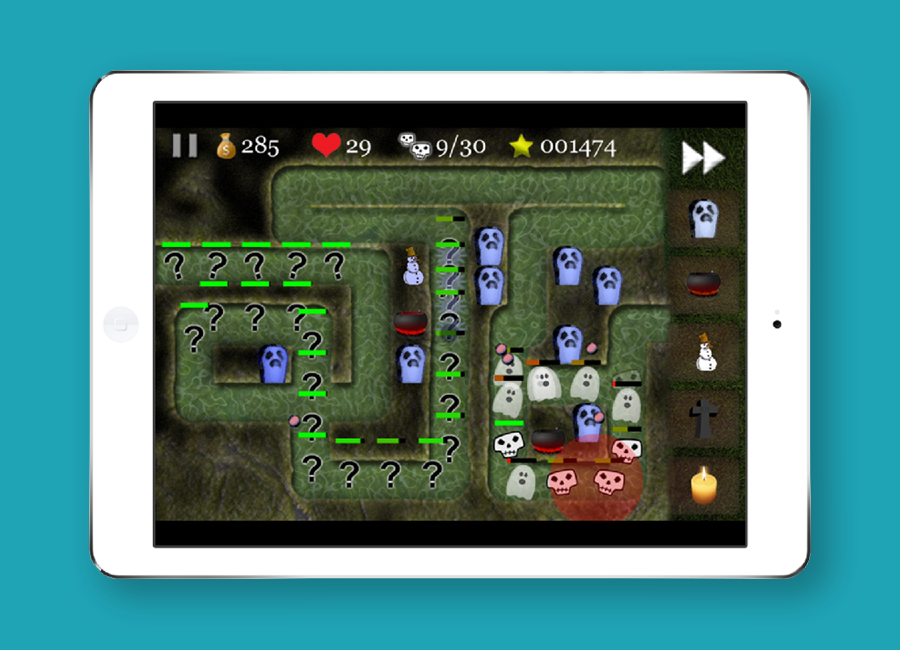 Horror Defense för iOS